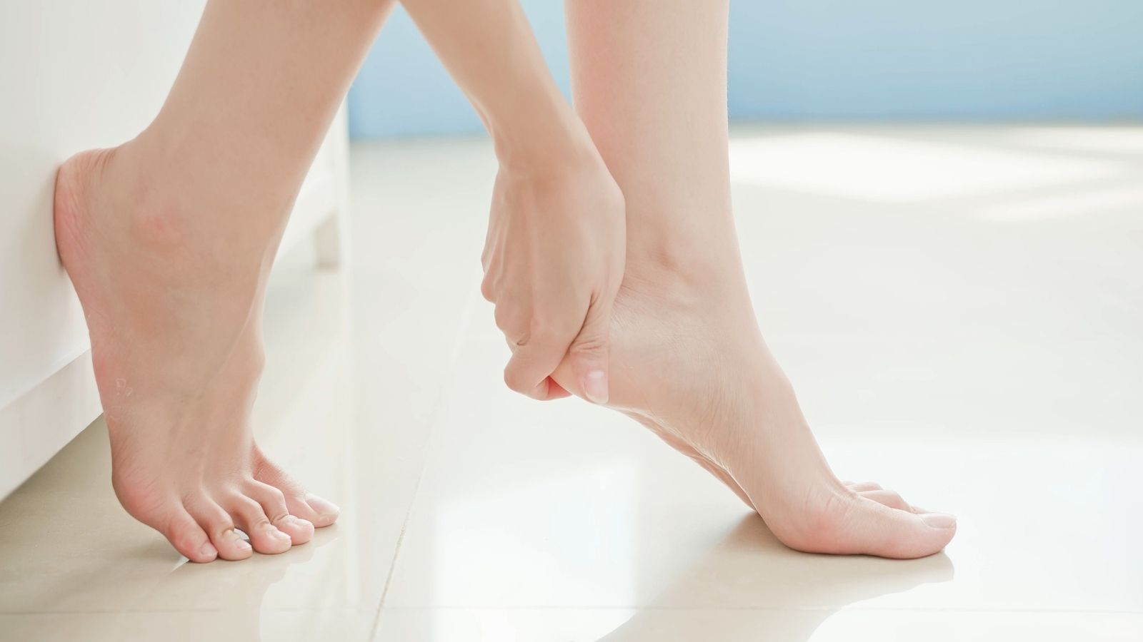 Moisturise your feet regularly