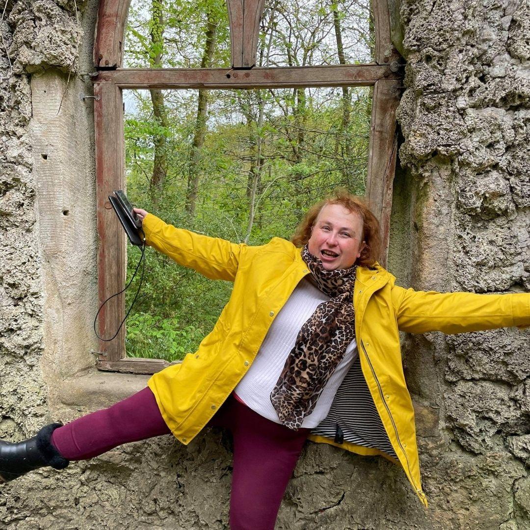 Image of Sarah Cooper at Hack Fall