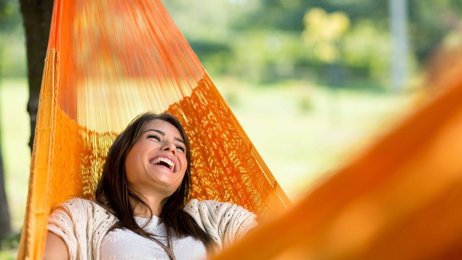 lazy day on a hammock